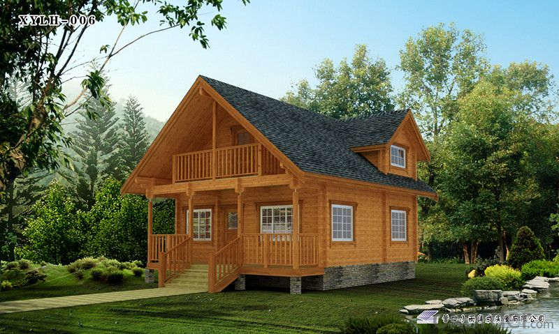 Prefabricated House with Mountenegro Project-002