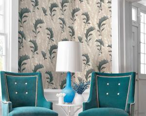 PVC Wallpaper Style of Painting Country Design Modern Flower PVC Wallpaper for Bedroom