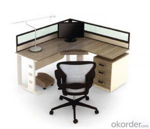 Office Furniture Commercial Desk MDF with Melamine