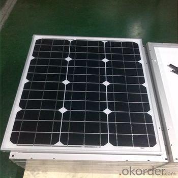 Buy Monocrystalline Solar Panels-50w CNBM Series Price,Size,Weight