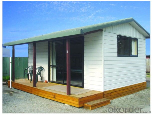 Steel House Prefabricated House One Storey Modern Design Flat Roof Or Sloped Roof Real Time Quotes Last Sale Prices Okorder Com