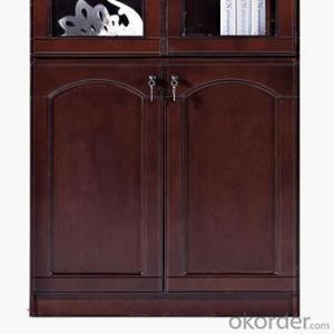 Office Furniture Commercial Cabinet with Glass Door