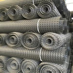 Fiberglass Geogrid with High Tensile Strength Warp Knitted CMAX Brand