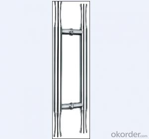 Stainless Steel Glass Door Handle for Bathroom/Shower Room on Hot Sales DH111