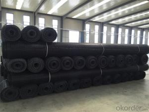 Plastic Geogrid with High Tensile Strength Warp Knitted CMAX Brand