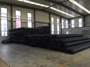 Polyester Biaxial Plastic Geogrid with High Tensile Strength Warp Knitted CMAX