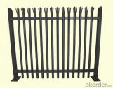High Quality Hot Dip Galvanized Palisade Europe Fence