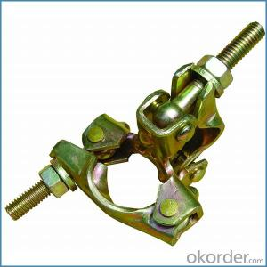 Scaffolding Pressed Double Coupler British Type for Sale