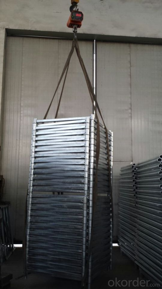 ID 15 Scaffolding System Q235 with Hot Dip Galvanizing