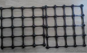 Black Poly HDPE Geogrid and PP Biaxial Geogrid