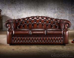 Oxford Sofa with Handmade Buttoned Backrest