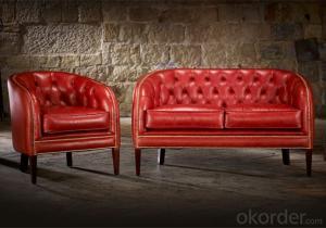 Mayfair Sofa with Top Grain Leather or Spilt Leather