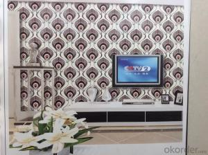 3d Wallpaper The Size of 0.53m*10m 3D Effect for Sofa Background