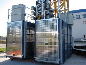 Construction Hoist SC160/160 33m/min for Building