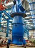 Bomba de turbina vertical accionada por caja de engranajes en ángulo recto (API610 VS6)