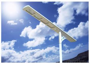 Solar Street/ Courtyard Light 4000 Lumens All in One Environment Friendly