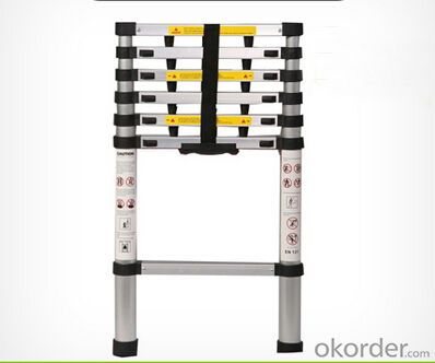 buy aluminum telescopic ladder high quality and portable. Black Bedroom Furniture Sets. Home Design Ideas
