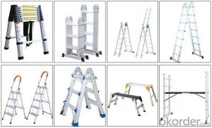 Aluminium Ladder,Foldable and Combination