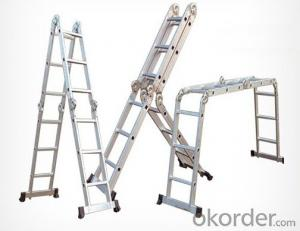 Aluminium Combination Ladder,Foldable and Flexible