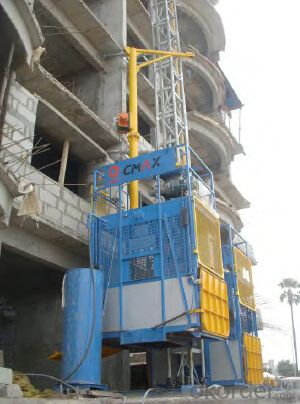 Building Construction Hoist SC200/200 ,Electric Hoist ,Electric Motor with Double Cage