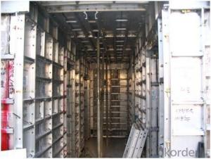Whole Aluminum Beam Formwork for Building and House