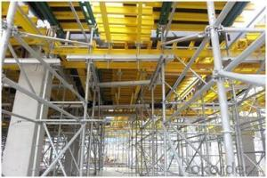 Timber Beam Formwork & Ring-Lock Support for Table Formwor