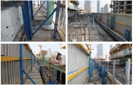 Protection Platform PP-50 for High Building Construction