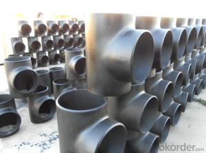 Alloy Steel Pipe Fittings Butt-Welding Equal Tees