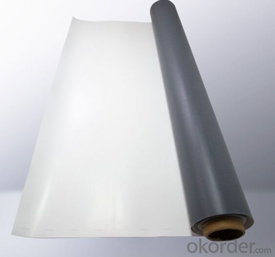 TPO Waterproof Membrane  for Width2.05m,Thickness 1.2mm 1.5mm 2mm