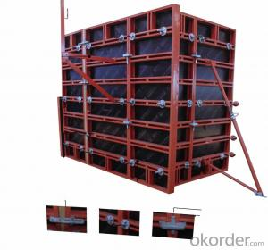 120 Type Steel Frame Formwork for Column Construction
