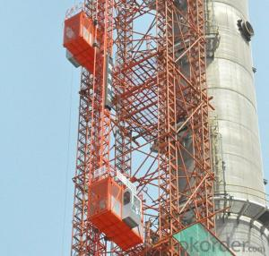 Construction Elevator (SC120) with CE ISO Certificate