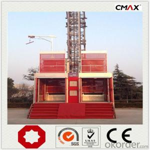 Construction Hoist New Double Cage Factory