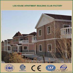 Low Cost Prefabricated House for Hotel and Apartment