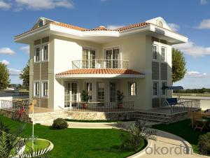House Prefabricated for Vacation Villa with Good Quality