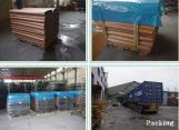 Colorfu Coated Steel Roofing Sheet pvc ban