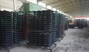 Colorfu Coated Steel Roofing Sheet pvc ban
