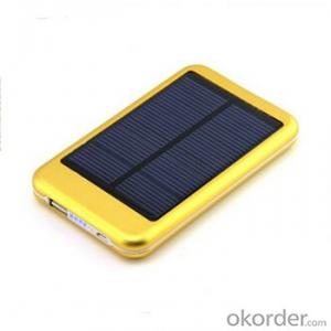 Solar Charger--Portable Mobile Phone For 6000 Mah Mobile