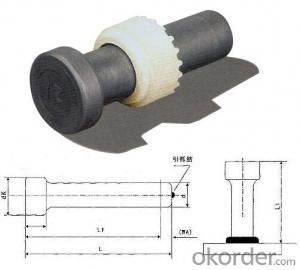 Shear Connector/Shear studs ISO13918, AWS D1.1