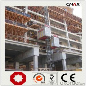 Construction Hoist Twin Cage Racks and Pinion