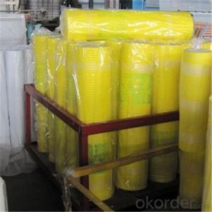 Fiberglass Mesh Cloth 4*4MM Alkali Resistant