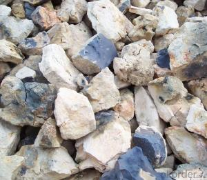 Natural Bauxite of  Bauxite Refractory CNBM in China with Size 1-3mm