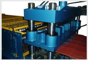 Step Tile Roll forming machine with CE certificate