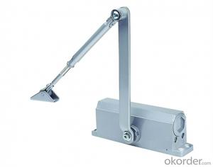 Door Closer with heavy duty 45-60kg/ 90-degree hold-open with Hydraulic on Dorma Type DC706