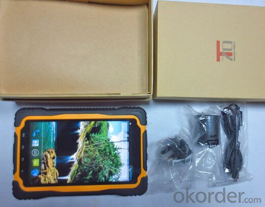 Rugged Android Tablet 7 inch with  GPS 3G NFC Waterproof /Dustproof/Dropproof/Full Function