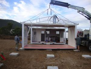 Prefab House Container House Sandwich Panel Walls and Roof