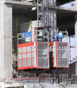 Speed Building hoist (Middle speed) with CE and ISO9001 Approved Building hoist
