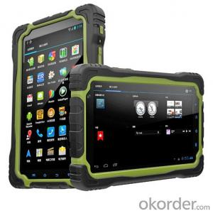 7 inch Waterproof  Tablet PC with Android GPS 3G and NFC Function Optional