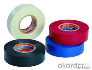 Cable Wrapping Electrical Insulation PVC Tape