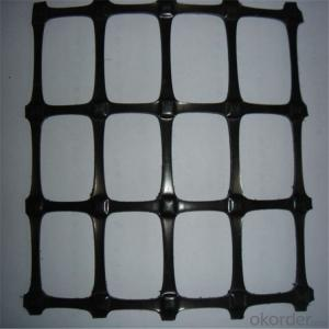 PP Biaxial Geogrid with  High Tensile Strength Direct Factory