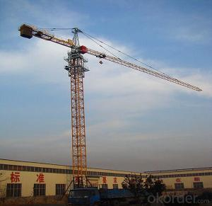 TC5008 With Jib 50M and 0.8Ton Tip Load  Hammer Head